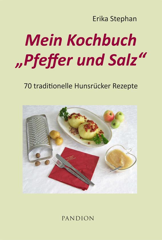 """Mein Kochbuch """"Pfeffer und Salz"""""""